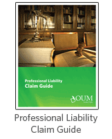 Professional Liability Claim Guide